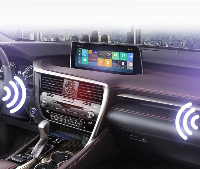 For Lexus RX AL20 RX 200T 450h 2015~2019 Liislee Car Multimedia Player NAVI 12.3 Screen Radio CarPlay Adapter Map GPS Navigation 9