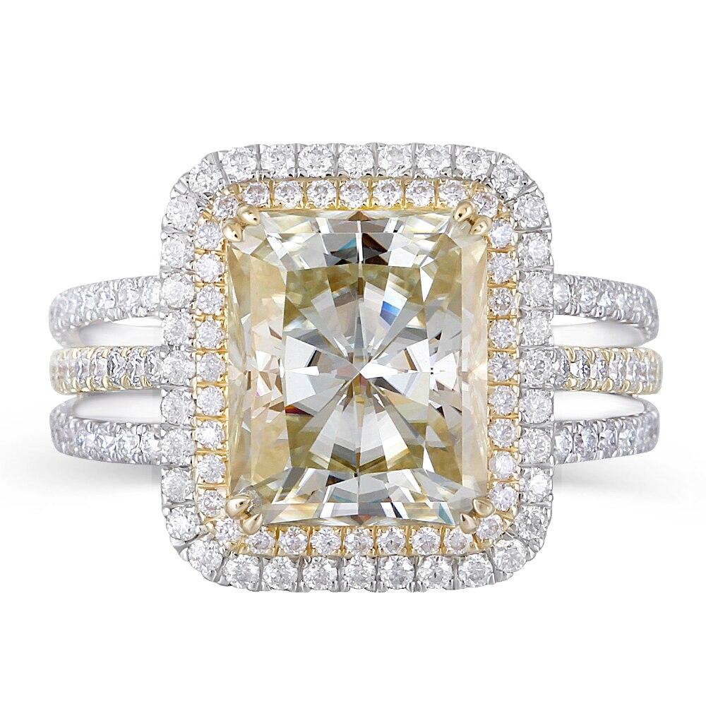 big size slight yellow moissanite engagement ring (1)