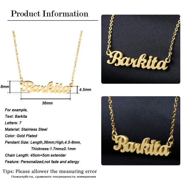 Personalized Custom Necklaces