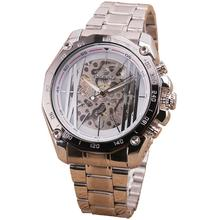 RUSSIAN Military Design White Luxury Hollow out Skeleton Men s Automatic Mechanical Wrist Watch Lover s