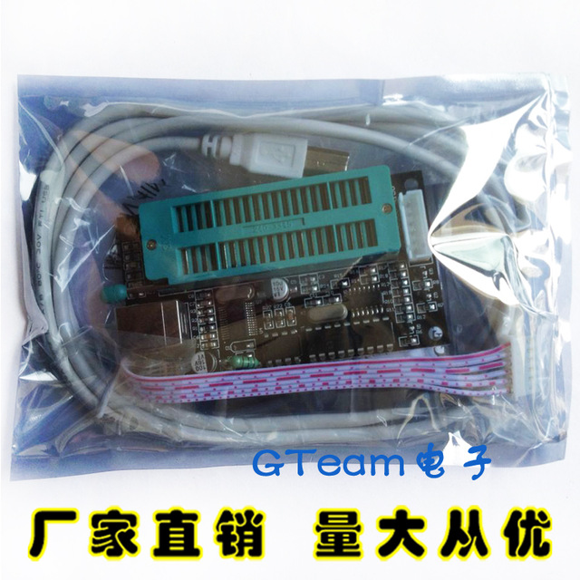 PIC K150 מתכנת Microchip PIC MCU Microcore צורב USB Downloader PIC K150 חיישן