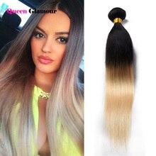 7A Top quality #1B 613 Hair Extension Brazilian Virgin Hair Straight 100% Human Hair Remy Hair Silky Straight High Grade 1 pcs