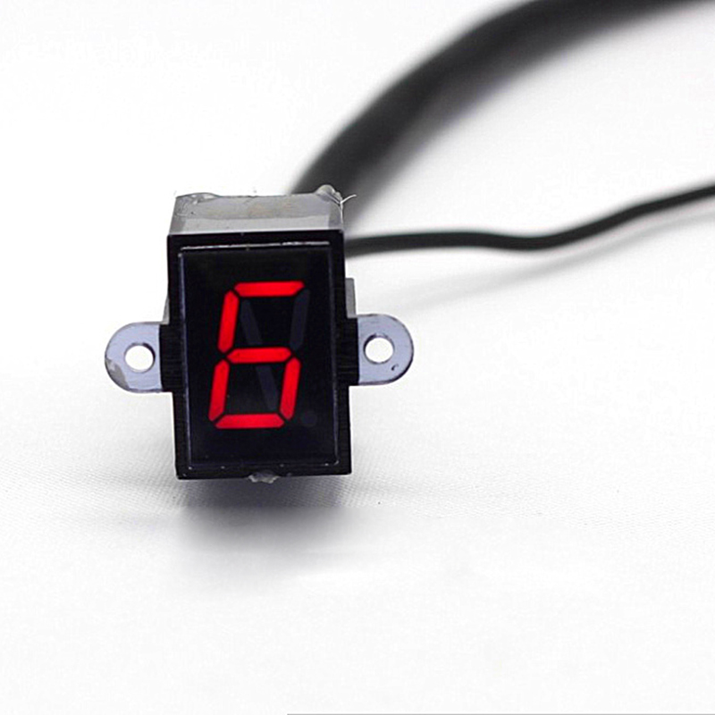 6 Digital Indicator : Waterprof universal speed digital gear indicator