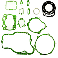 LOPOR For KAWASAKI KX250 KX 250 1992 Motorcycle engine gaskets include crankcase covers cylinder gasket kit set