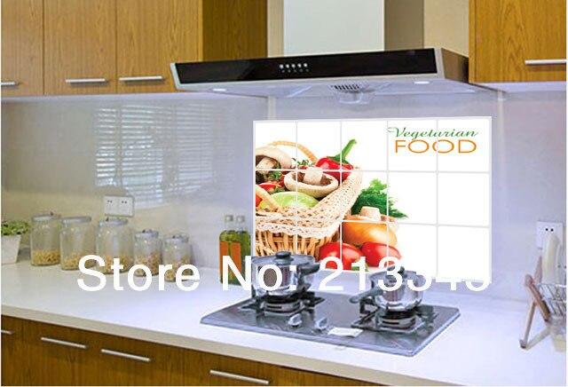 Tegel Decoratie Stickers : Fundecor] keuken olie stickers verwijderbare decoratie