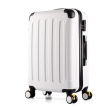 20 24 inch men and women aluminium trolley / travel suitcase / rolling luggage koffer spinner valise bagages roulettes