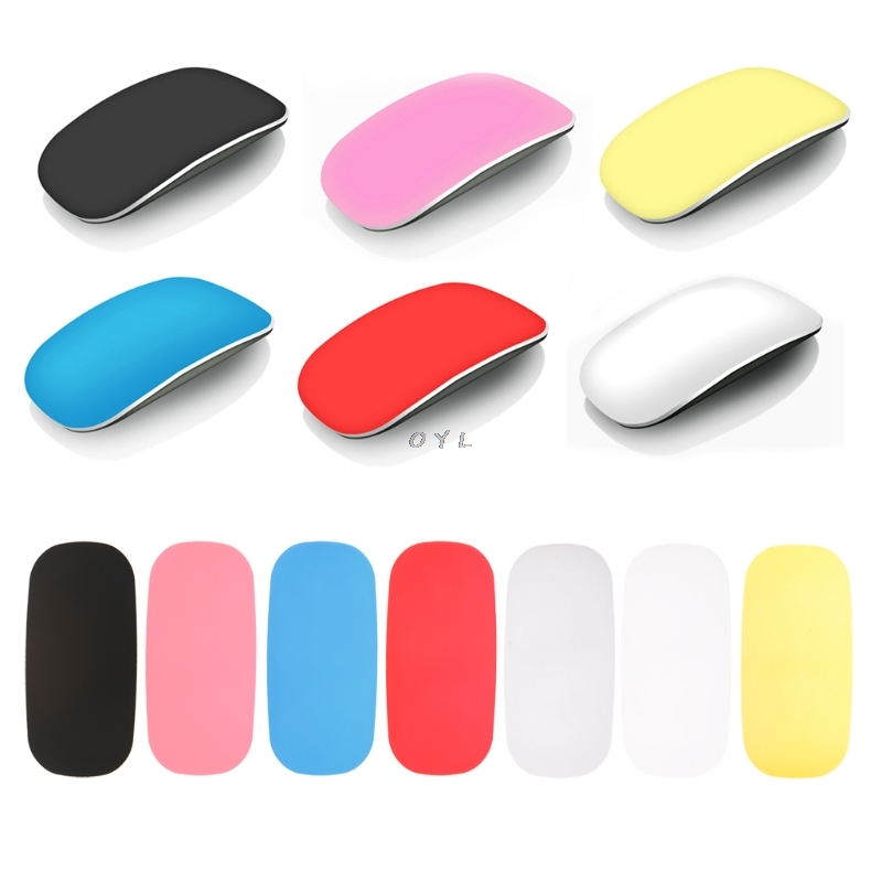 Soft Ultra-thin Coque Skin Cover For Apple Magic Mouse Case Silicon Solid Cover Protect Against Scratching