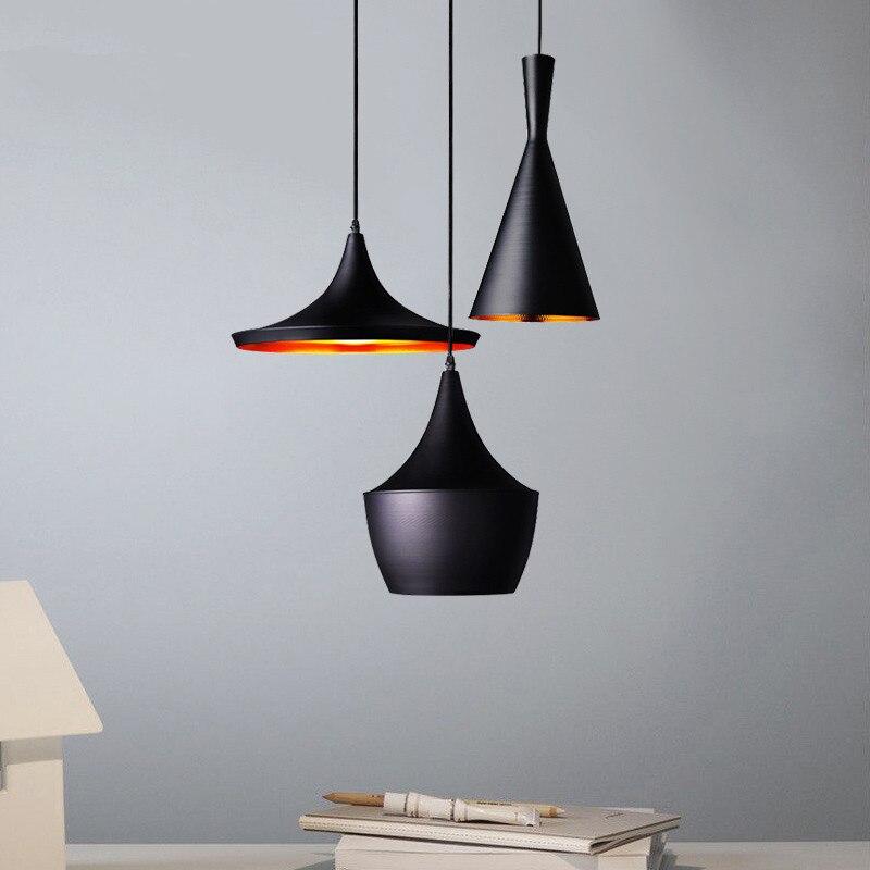 Modern Pendant Light Kitchen Fixture 3pc/set Beat Hanging lamp musical instrument Light Fixture Luminiare Home Lighting