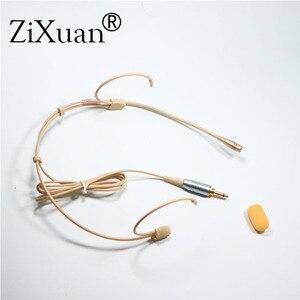 Image 4 - מקצועי אוזן תליית אוזניות Headworn מיקרופון הקבל Hypercardioid מיקרופון עבור Sennheiser Shure אלחוטי מיקרופון מערכת