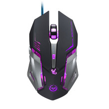 2016 Computer & Office Led 3500 DPI 6 Button Optical Custom Macros USB Wired Gaming Steel Mouse Mice Onfine Leo