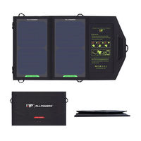 ALLPOWERS 10W Solar Cell Charger Solar Panel Battery For Mobile Phone Cellphone Water Resistant Folding Charging