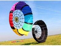 Новый мягкий воздушный змей паук Оптовая торговля летающие игрушки большой Рипстоп нейлон плоские воздушные змеи взрослых ПРОДАЖА windsock