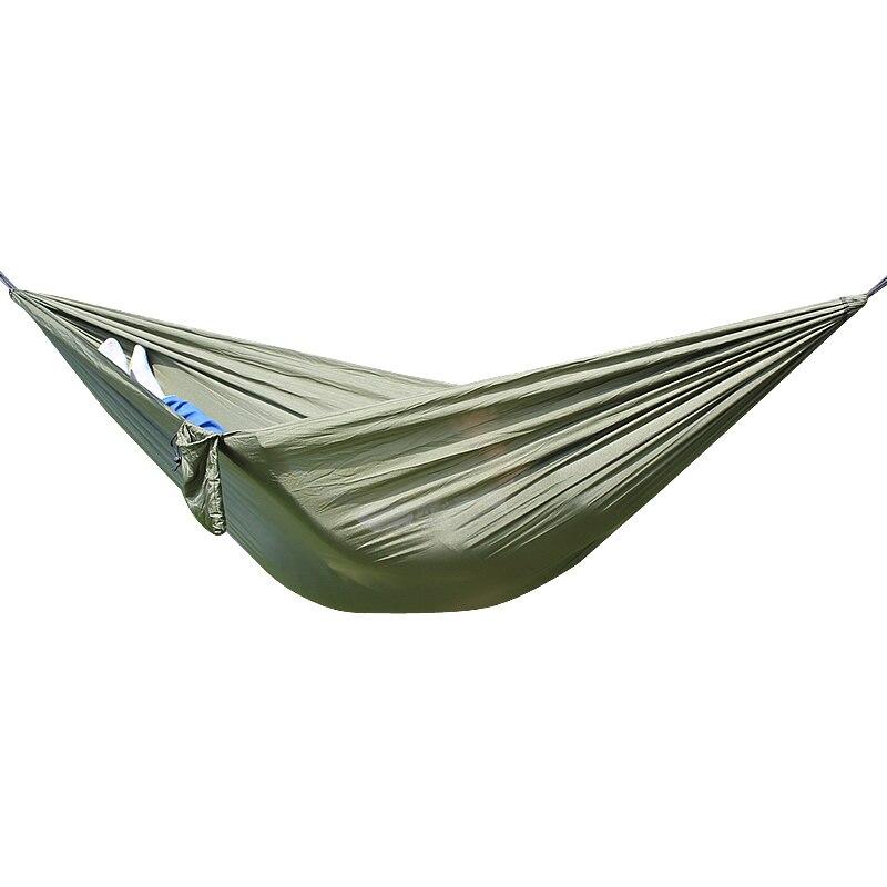 Parachute Hammock Double 1 Person Portable Garden Outdoor Camping Travel Furniture Survival Swing Hammocks