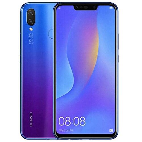HUAWEI nova 3i 4G Smartphone 6.3 ''Android 8.1 Kirin710 Octa Core 2.2GHz 4GB 128GB 16.0MP + 2.0MP empreinte digitale 3340mAh téléphones portables