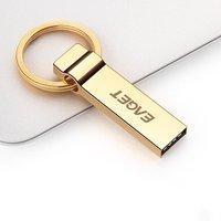 EAGET U90 USB de Alta Velocidade USB 3.0 Pendrive USB Stick 128G 32G 64G 16G Flash Drive À Prova D' Água Anel de Chave de Criptografia de Segurança para o PC