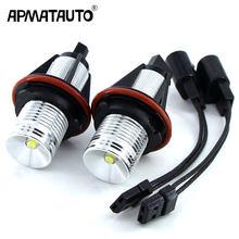 2x ошибок 10 Вт светодиодный Ангельские глазки габаритные огни лампы белый/синий/красный для BMW E39 E53 E60 E61 E63 E64 E65 E66 E87 525i 530i 545i