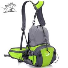 TANLUHU Women Men Multifunction Outdoor Sports Folding Backpack  Waist Packs Mini Mountain Climbing Hiking Cycling Bags