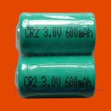 2 x Перезаряжаемые CR2 CR-2 15270 3,0 v литий-ионный аккумулятор Батарея