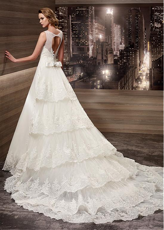 Plus Size Wedding Dress Fabulous Tulle Scoop Neckline 2 In 1 Dresses With Detachable Train WED90288 From Weddings Events On