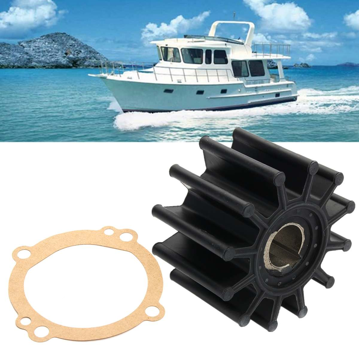 Water Pump Impeller Repair Kit For Sherwood S11095G S11095-G S-11095G 10615K Boat Parts Accessories