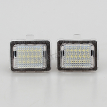 MZORANGE 1 pair LED Car Number License Plate Light with Bulbs For Mercedes for Benz W204 5D W212 W216 W221 C207 Accessories