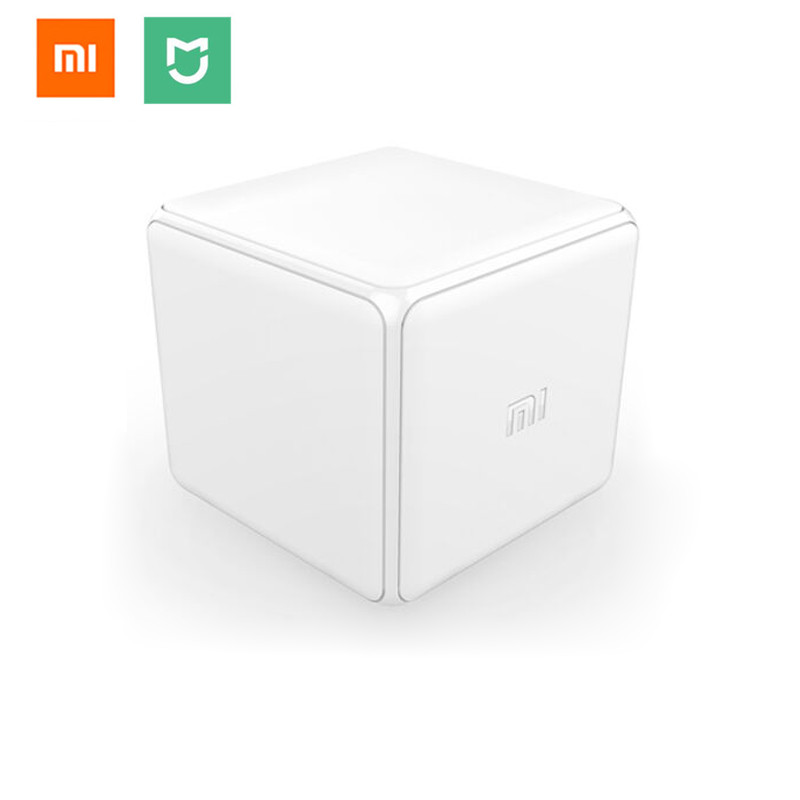 Xiaomi Mi Magic Cube Controller Zigbee Version Controlled by Six Actions For font b Smart b