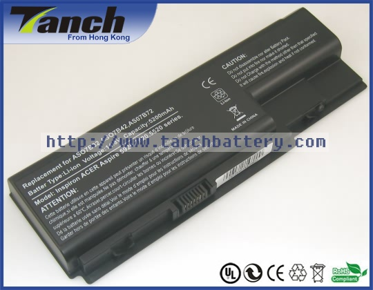 Laptop <font><b>batteries</b></font> for ACER AS07B41 Aspire 5220 AS07B71 7735 AS07B61 7540 7520G 8730G 5710G 7738G TravelMate 7530 14.8V 8 cell