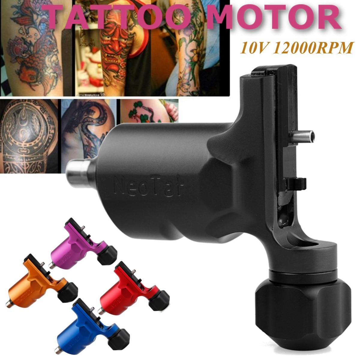Adjustable Stroke Direct Drive Rotary Tattoo Machine For Shader Liner Tattoo Motor Gun rotary tattoo machine parts