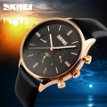 2016 New Famouse Top Brand Luxury Mens Business Watches Genuine Leather Luxury Mens Watches Quartz Wristwatches Watch Relogio
