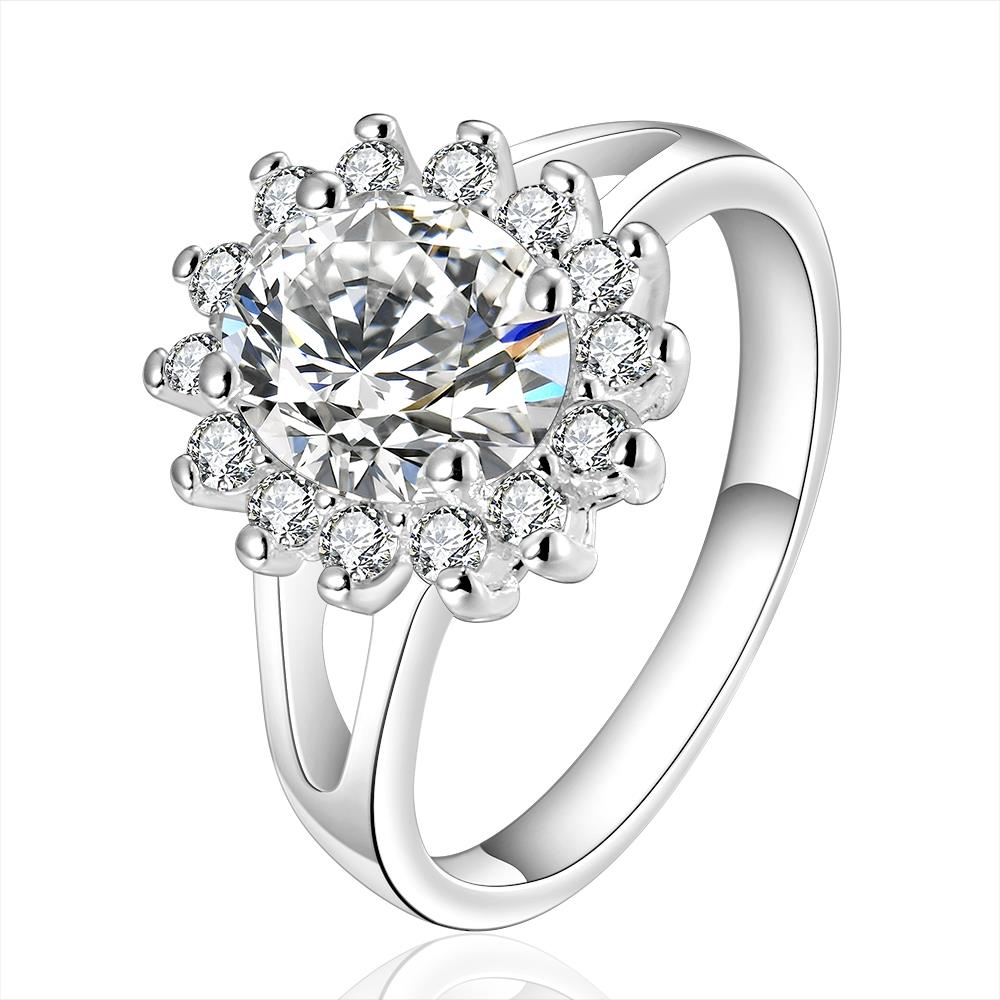large Cubic Zirconia Party Trendy Geometric Cocktail Ring Black Friday Wedding Rings Luxury Fashion jewelry Rings For Women