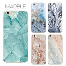 Hensongift For iphone X 8 8plus Marble Pattern Phone Case TPU Back Cover for iPhone 6 6s plus mobile soft case for 7 7plus