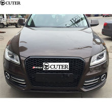All Black front bumper Grille Q5 RSQ5 Racing Grills For Audi Q5 RSQ5 13-16
