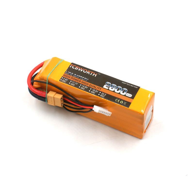 все цены на RC Airplane Lipo battery 14.8v 2600mAh 35C 4s FOR RC drone helicopter AKKU Li-ion cell free shipping