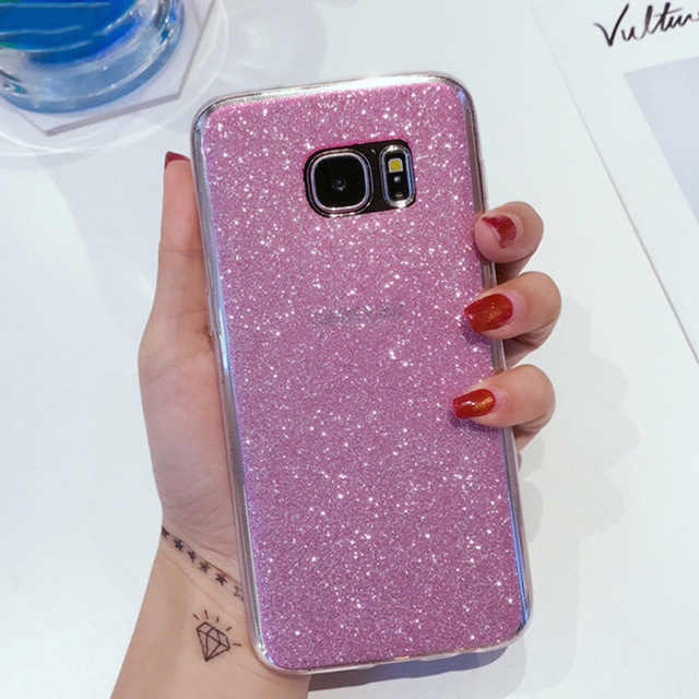 Glitter Soft Silicon Case For Samsung Galaxy J3 J5 J7 Neo Nxt Pro Prime Duos 2016 2017 Ultra thin Cell Phone Back Cover