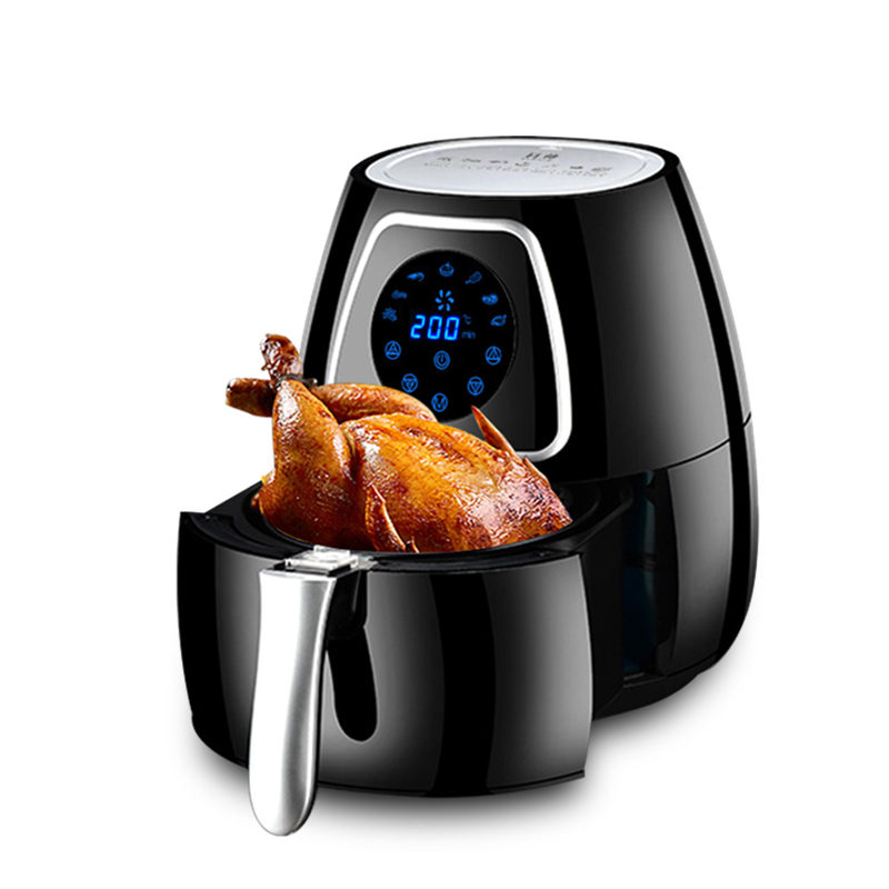 220V 5L Electric Air Fryer Smokeless And Oilless French Fries Maker Machine Non-stick Household Electric Food Fryer EU/AU/UK/US цена