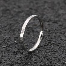 Shi40 316 l из нержавеющей стали женские 2 мм тонкие кольца