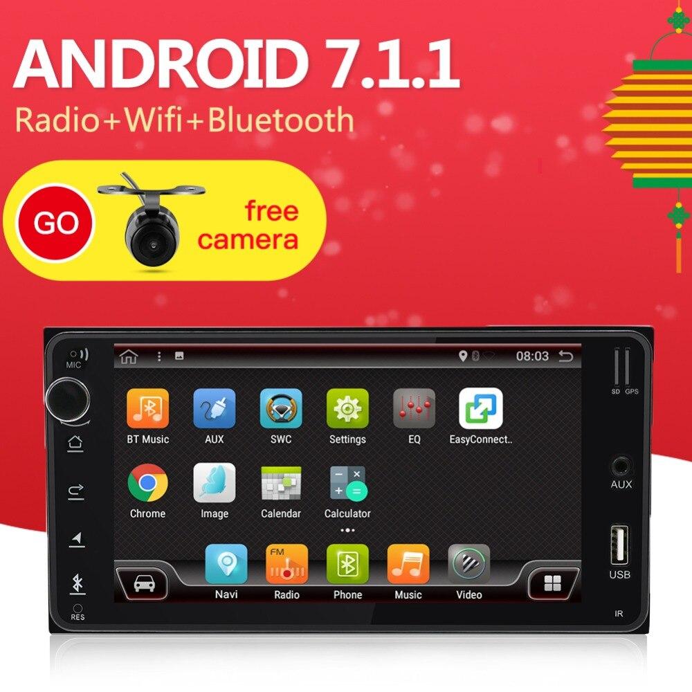 2 Din Android 7.1 Car DVD GPS For Toyota Hilux Yaris Vios Camry Corolla Rav4 Prado 2003 2004 2005 2006 2007 2008 1G RAM2 Din Android 7.1 Car DVD GPS For Toyota Hilux Yaris Vios Camry Corolla Rav4 Prado 2003 2004 2005 2006 2007 2008 1G RAM