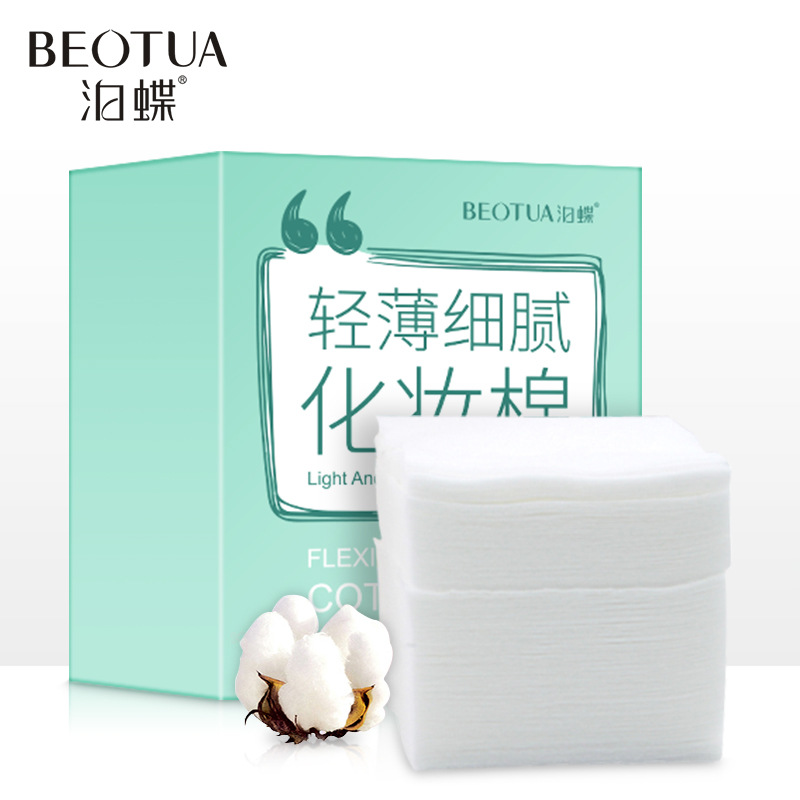 100Pcs/Set Cotton Makeup Cotton Wipes Soft Makeup Remover Pads Facial Cleansing Paper Wipe Skin Care Light And Delicate
