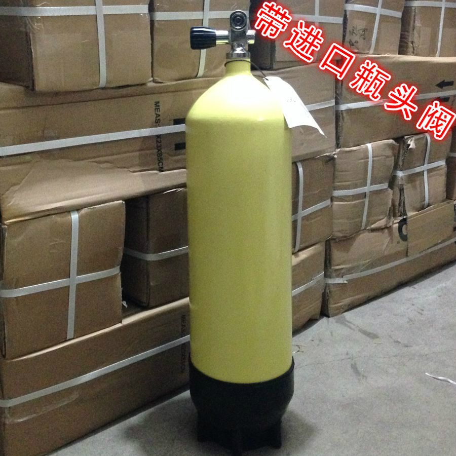 12L diving cylinders genuine 12 l diving bottles hyperbaric oxygen bottles for diving (with stand) air bottle diving adventure
