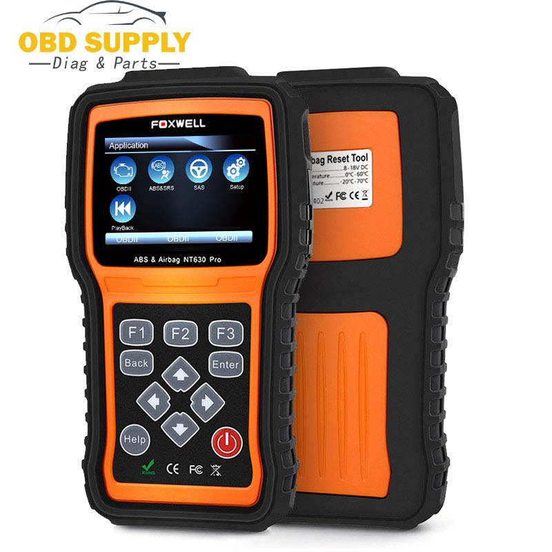 цены FOXWELL SRS SAS Crash Data Reset OBDII Auto Code Reader Scanner Tool NT630 Pro OBD OBD2 Diagnostic Car Scanner Engine ABS Airbag