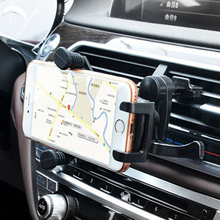 цена на Universal Smartphone Car Holder Air Vent Mount Clip Cellphone Support For Phone In Car Mobile Phone Stand Holder