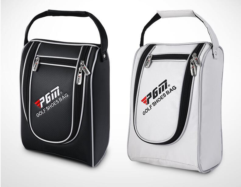 Hot!PGM Waterproof PU Golf Shoe Bag for Men and Women Customize Golf Shoes Package Travel Bag Golf Shoe Bag,Free shipping Shoe Bags