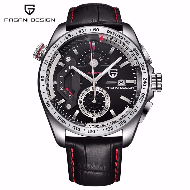 Reloj Hombre Pagani Design Sport Leather Strap Watches Men Top Brand Luxury Multifunction Quartz Watches Clock Relogio Masculino reloj hombre pagani design sport leather strap watches men top brand luxury multifunction quartz watches clock relogio masculino