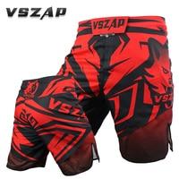 MMA black boxing Wolf motion picture training kickboxing shorts muay thai shorts cheap mma shorts boxeo