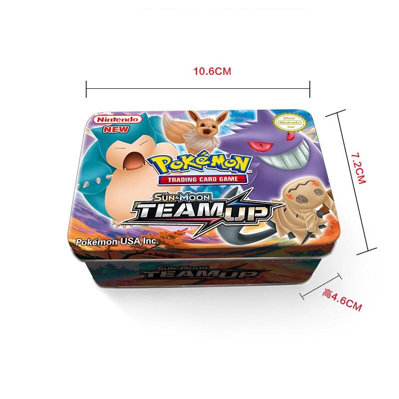 42 карты/коробка GX Мега Покемон Сияющие карты игра битва карт торговые карты игра детская игрушка «Покемон»