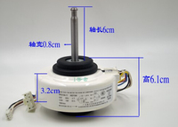 Wall Mounted RPG13T A C Room Device Motor T26N4P A921114 220 50Hz 4P 0 20A 1