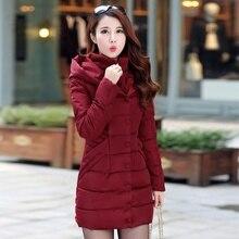 ZOGAA 2018 new 4 color winter fashion casual long slim thick cotton jacket warm cotton slim down jacket S-3XL цена