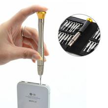 High quality  25 in 1 Precision Torx Screwdriver Cell Phone Wallet Repair Tool Set For iPhone Cellphone Electronics PC Laptop