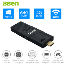 Bben Hot MN9 Mini PC Stick Windows 10 Ubuntu OS 2G/4G Ram+ 32G/64G eMMC Intel Z8350 CPU Intel HD Graphics Wifi BT4.0 PC Computer