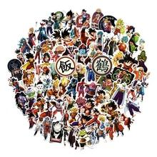 100pcs Seven Dragon Ball Cartoon Anime Luggage Stickers Waterproof Notebook Car Body Skateboard Laptop Stationery Anime Stickers